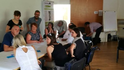 Aquaponic working group in Koper, July 2018